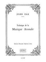 Julien FALK - Atonal music technique - Book - di-arezzo.co.uk