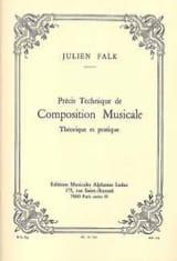Julien FALK - Précis technique de composition musicale - Livre - di-arezzo.fr