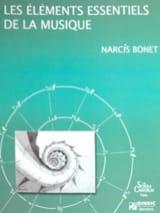 Narcis BONET - Les éléments essentiels de la musique (INTÉGRALE - 4 CAHIERS) - Livre - di-arezzo.fr