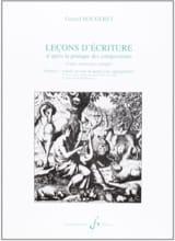 Leçons d'écriture d'après la pratique des compositeurs, volume 2 - laflutedepan.com