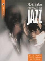 L'Odyssée du jazz Noël BALEN Livre Les Oeuvres - laflutedepan.com