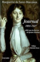 Journal, 1894-1927 - DE SAINT-MARCEAUX Marguerite - laflutedepan.com
