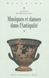 DELAVAUD-ROUX Marie-Hélène dir. - Musiques et danses dans l'Antiquité - Livre - di-arezzo.fr