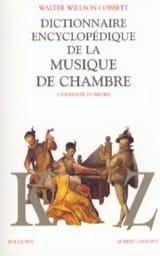 Dictionnaire de la musique de chambre, Volume 2 laflutedepan.com
