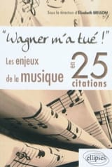 Élisabeth BRISSON - Wagner killed me! : the stakes of music in 25 quotes - Book - di-arezzo.co.uk
