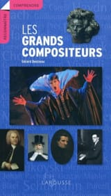 Les grands compositeurs Gérard DENIZEAU Livre laflutedepan.com