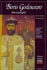 Avant-scène opéra (L'), n° 191 : Boris Godounov laflutedepan.com
