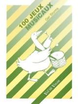 100 jeux musicaux - Ger STORMS - Livre - Pédagogie - laflutedepan.com