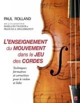 L'enseignement du mouvement dans le jeu des cordes laflutedepan.com