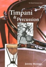 Timpani and percussion Jeremy MONTAGU Livre laflutedepan.com