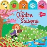 Les quatre saisons : Vivaldi Agnès BESSON Livre laflutedepan.com