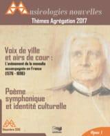 Nouvelles Musicologies - Thèmes Agrégation 2017 - Livre - di-arezzo.fr