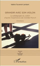Grandir avec son violon Clotilde MÜNCH Livre laflutedepan.com