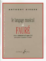 Le langage musical de Fauré dans le quintette n°2 Op. 115 laflutedepan.com