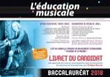 Philippe MORANT - L'éducation musicale - baccalauréat 2018 : le livret du candidat - Livre - di-arezzo.fr