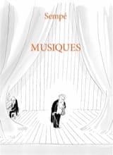 Musiques SEMPÉ Jean-Jacques Livre laflutedepan
