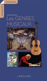 Les genres musicaux - Gérard DENIZEAU - Livre - laflutedepan.com