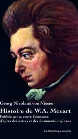 Histoire de W.A. Mozart : publiée par sa veuve Constance - laflutedepan.com