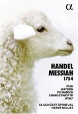 Messiah (1754) - HANDEL George Frideric - Livre - laflutedepan.com