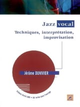 Jazz vocal : techniques, interprétation, improvisation - laflutedepan.com