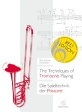 SVOBODA Mike / ROTH Michel - The techniques of trombone playing - Livre - di-arezzo.fr