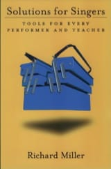 Solutions for singers - Richard MILLER - Livre - laflutedepan.com