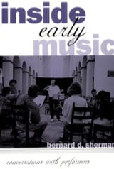 Inside early music - SHERMAN Bernard D. - Livre - laflutedepan.com