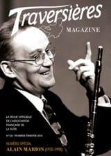 Traversières magazine, n° 126 - 3ème trimestre 2018 - laflutedepan.com