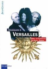 Musiques à Versailles Collectif Livre Les Epoques - laflutedepan.com