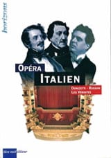 L'opéra italien Collectif Livre Les Oeuvres - laflutedepan.com