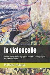 Le violoncelle Philippe MALGRAT Livre laflutedepan.com