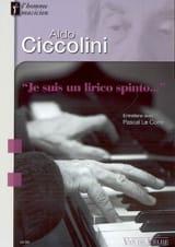 Aldo Ciccolini : Je suis un lirico spinto : entretiens avec Pascal Le Corre laflutedepan.com