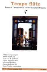 Tempo flûte, n° 19 (Premier semestre 2019) Revue laflutedepan.com