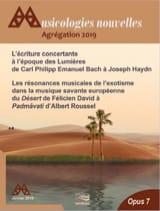 Musicologies Nouvelles - Agrégation 2019 laflutedepan.com