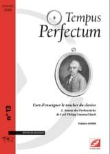 Frédéric GONIN - Tempus Perfectum, n° 13 - L'art d'enseigner le toucher du clavier, volume 2 - Livre - di-arezzo.fr