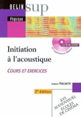 Initiation à l'acoustique Antonio FISCHETTI Livre laflutedepan.com