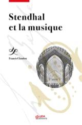 Stendhal et la musique Francis CLAUDON Livre laflutedepan.com