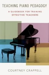 Teaching Piano Pedagogy Courtney CRAPPELL Livre laflutedepan.com