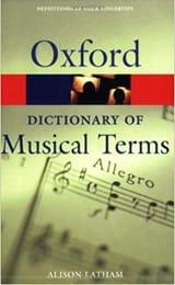 Oxford dictionary of musical terms Alison LATHAM laflutedepan.com