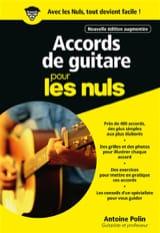 Accords de guitare pour les nuls Antoine POLIN Livre laflutedepan.com