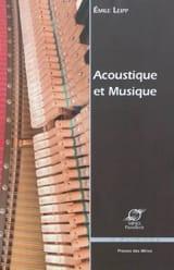 Acoustique et musique Émile LEIPP Livre laflutedepan.com