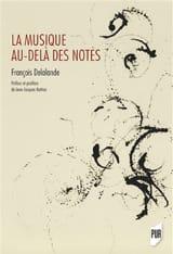 La musique au-delà des notes François DELALANDE Livre laflutedepan.be