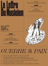 La Lettre du musicien n°529 : Guerre et Paix Revue laflutedepan.com
