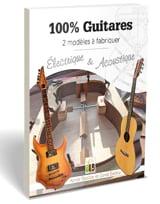100 % guitares Xavier / Barjou David BARATAY Livre laflutedepan