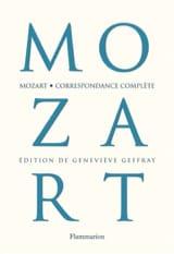 Correspondance complète MOZART Wolfgang Amadeus Livre laflutedepan.com