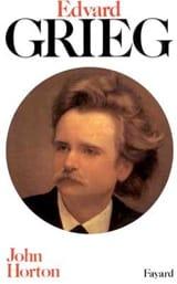 Edvard Grieg John HORTON Livre Les Hommes - laflutedepan.com