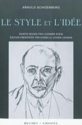 Le style et l'idée - Arnold SCHOENBERG - Livre - laflutedepan.com