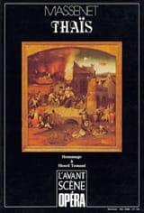 Avant-scène opéra (L'), n° 109 : Thaïs Jules MASSENET laflutedepan.com