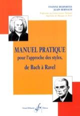 Yvonne DESPORTES - Manuel pratique pour l'approche des styles - Livre - di-arezzo.fr