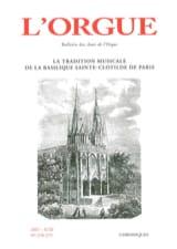 L'Orgue, n° 278-279 (2007/II-III) Revue Livre laflutedepan.com